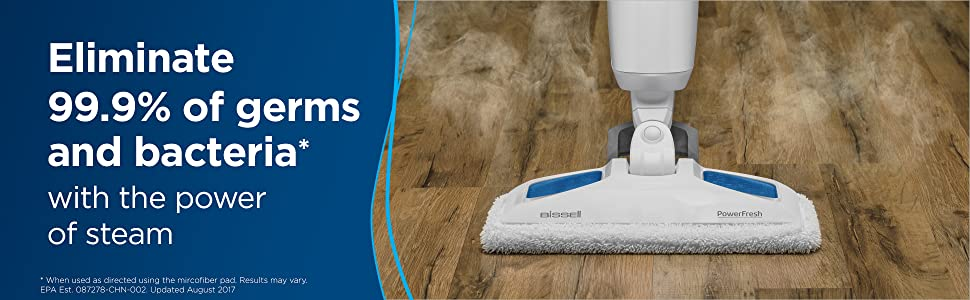 Steam mop, mop, steam cleaner, all natural, powerfresh, wood, tile, grout, laminate