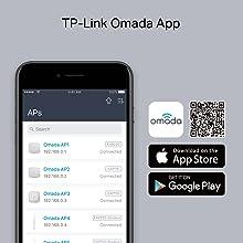 zakelijke Omada draadloze wifi toegangspunt