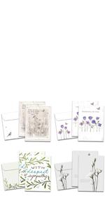 Sympathy Card Pack
