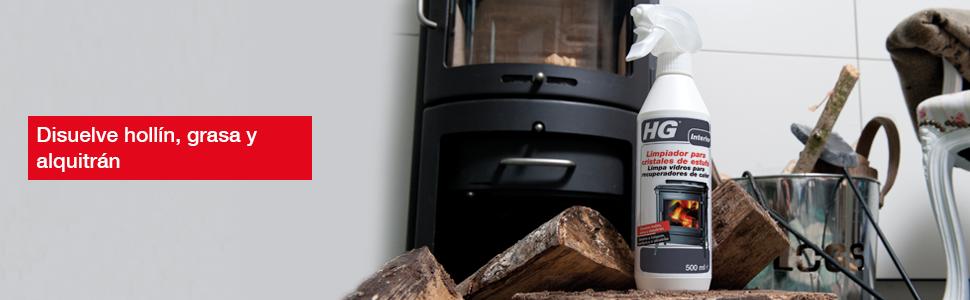 HG Limpiador para cristales de estufa