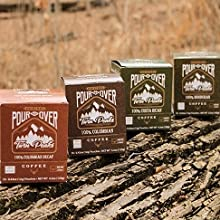 twin peaks pour over coffee 10 count boxes