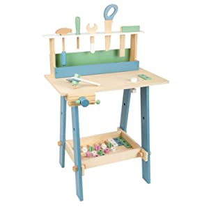 wooden nordic workbench