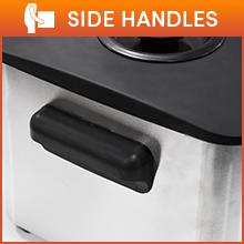 side handles