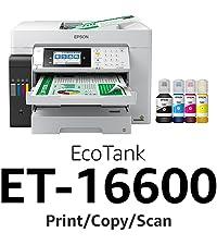 et-16600, ecotank, epson ecotank, supertank printer, epson supertank printer, bottle inks