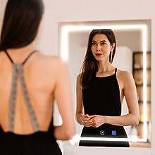 Glamorous Decorative LED Mirrors