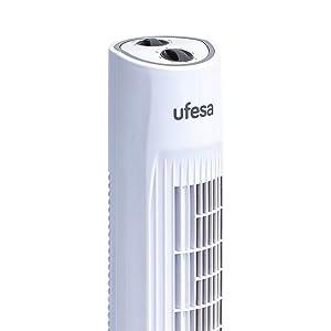 Ufesa TW1100 - Ventilador de Torre, 45W, 3 velocidades ...