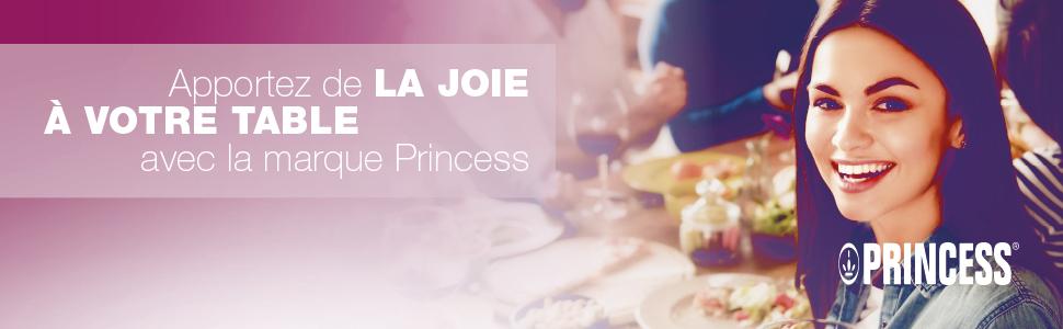 """Bannière Princess """"Apportez de la joie à votre table"""""""