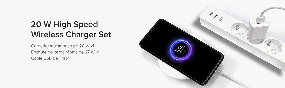 Xiaomi 20 W High Speed Wireless Charger Set