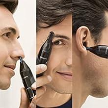 Nose trimmer series 5000 Näs-, öron-, ögonbryns- och precisionstrimmer