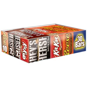 Hershey's Kit Kat Almonds Reeses