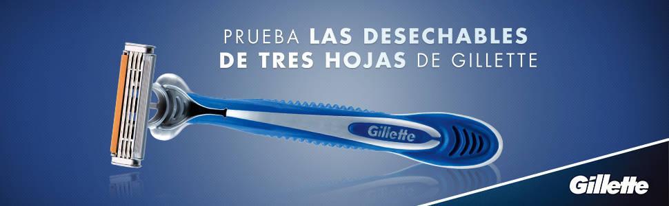 Gillette Sensor3 Maquinillas desechables para hombre - 8 Unidades ...