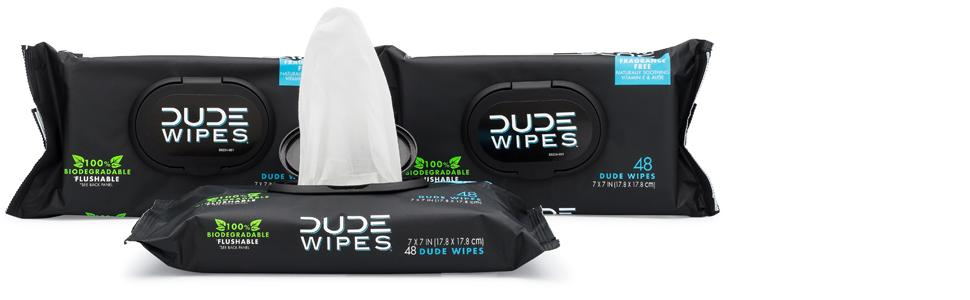Amazon Com Dude Wipes Flushable Wet Wipes Unscented With