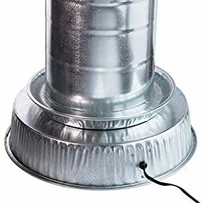 Farm Innovators Heated Base for Metal Poultry Founts