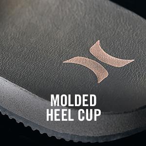 Molded Heel Cup Hurley Sandal
