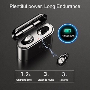 Earbuds with Sufficient Juice
