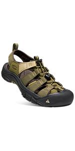 men's newport dydro closed toe water sandal short casual