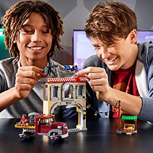 LEGO Overwatch Dorado 마무리
