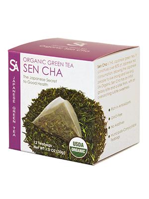 organic sencha teabag