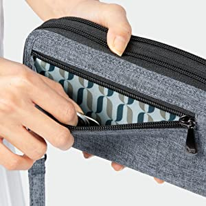 coin pouch, wallet with coin holder, wallet with pockets