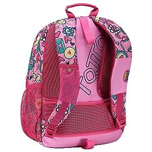 Las mochilas escolares adaptables a carro, modelo Acuareles incorpora