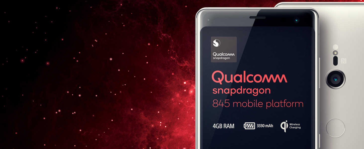 Qualcomm Snapdragon 845; 4GB Ram; Large battery; All day battery; QI wireless charging