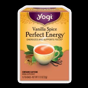 Yogi Tea, Vanilla Spice Perfect Energy, 16 Count
