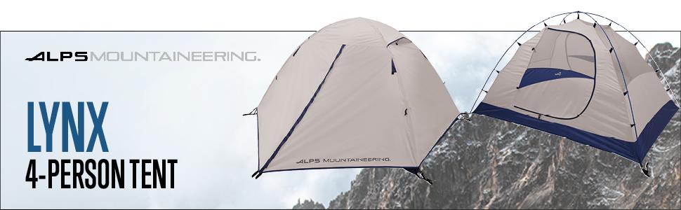 alps lynx 4 tent