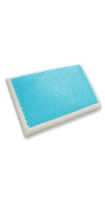 ... Gel Pillow, Reversible, Memory Foam Pillow, Cool Pillow