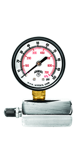 pressure gauges, gas test pressure gauge