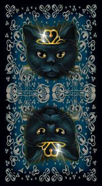 Black Cats Tarot Deck: Maria Kuara, Lo Scarabeo