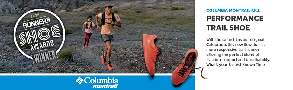Columbia Montrail F.K.T. Men's Performance Trail Running Shoe