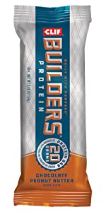 CLIF BUILDERS BAR CLIF PROTEIN BAR CLIF ENERGY BAR CLIF CHOCOLATE PEANUT BUTTER ATHLETE WORK OUT