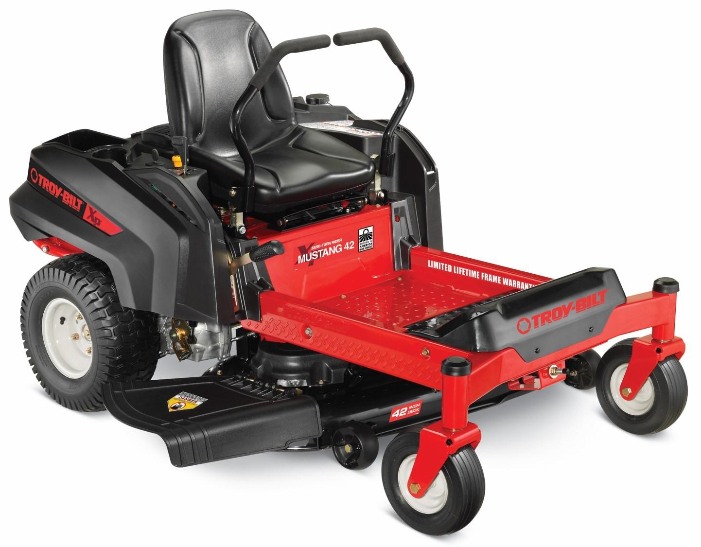 Amazon com : Troy-Bilt 42 XP Mustang 22HP 42-inch Zero Turn