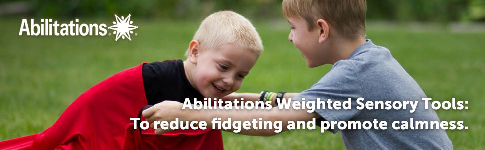Abilitations Weighted Sensory Tools: To reduce fidgeting and promote calmness