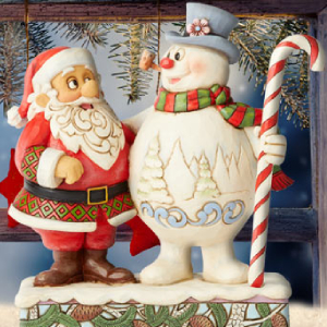 Frosty the Snowman by Jim Shore Intricate Home Decor
