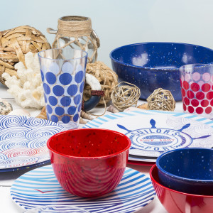 Bring a celebration to your kitchen with these colorful bowls!