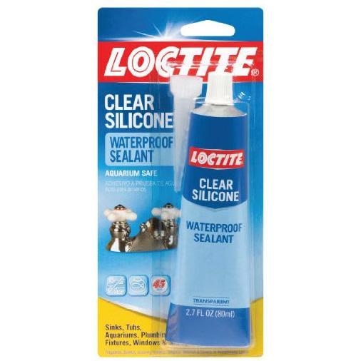 Amazon Com Loctite Clear Silicone Waterproof Sealant 2 7
