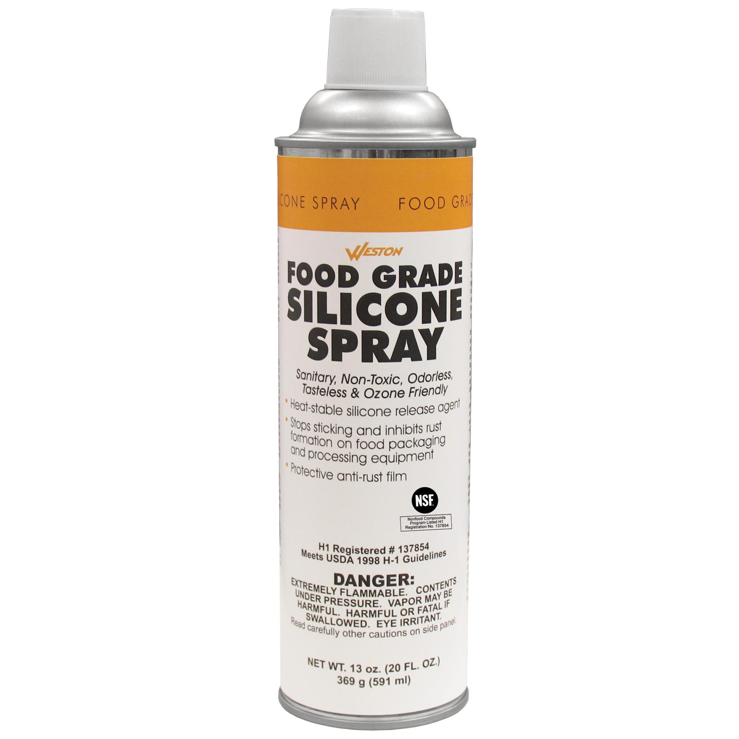 Silicone Spray Lubricant >> Weston 03 0101 W Food Grade Silicone Spray 13oz Can For For Lubrication And Storage