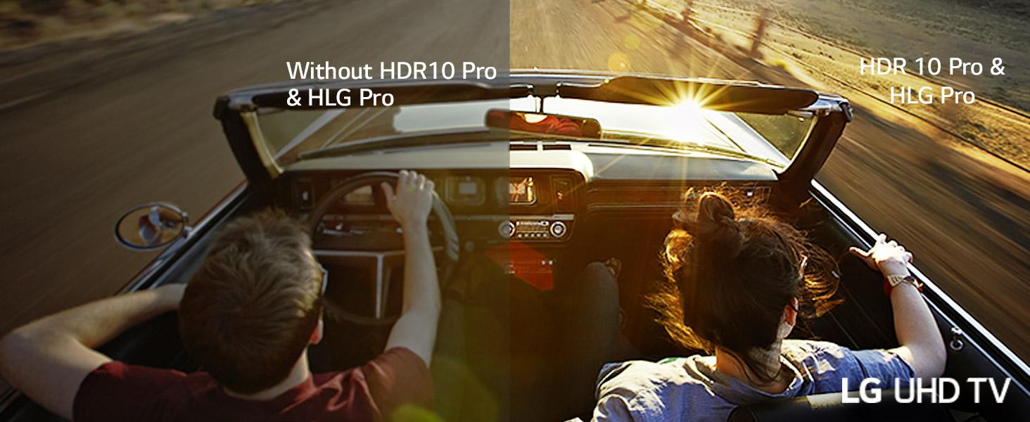 HDR10 Pro & HLG Pro