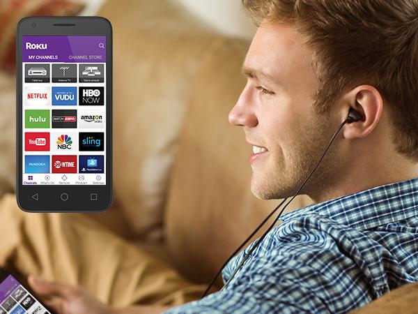 Roku Voice Search Mobile App