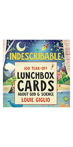 Indescribable lunchbox cards