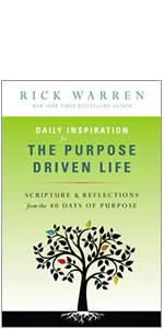 purpose, PDL, Rick Warren, Purpose Driven Life, life, identity, daily inspiration
