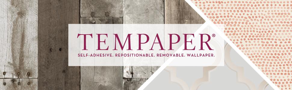 Tempaper Peel and Stick Wallpaper Header