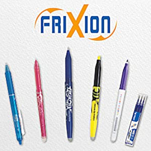 friXion erasable ink pens stationary write rollerball