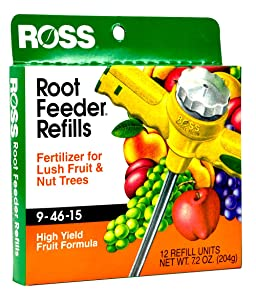 Ross Root Feeder Refill drought water conservation fertilizer fruit nut trees