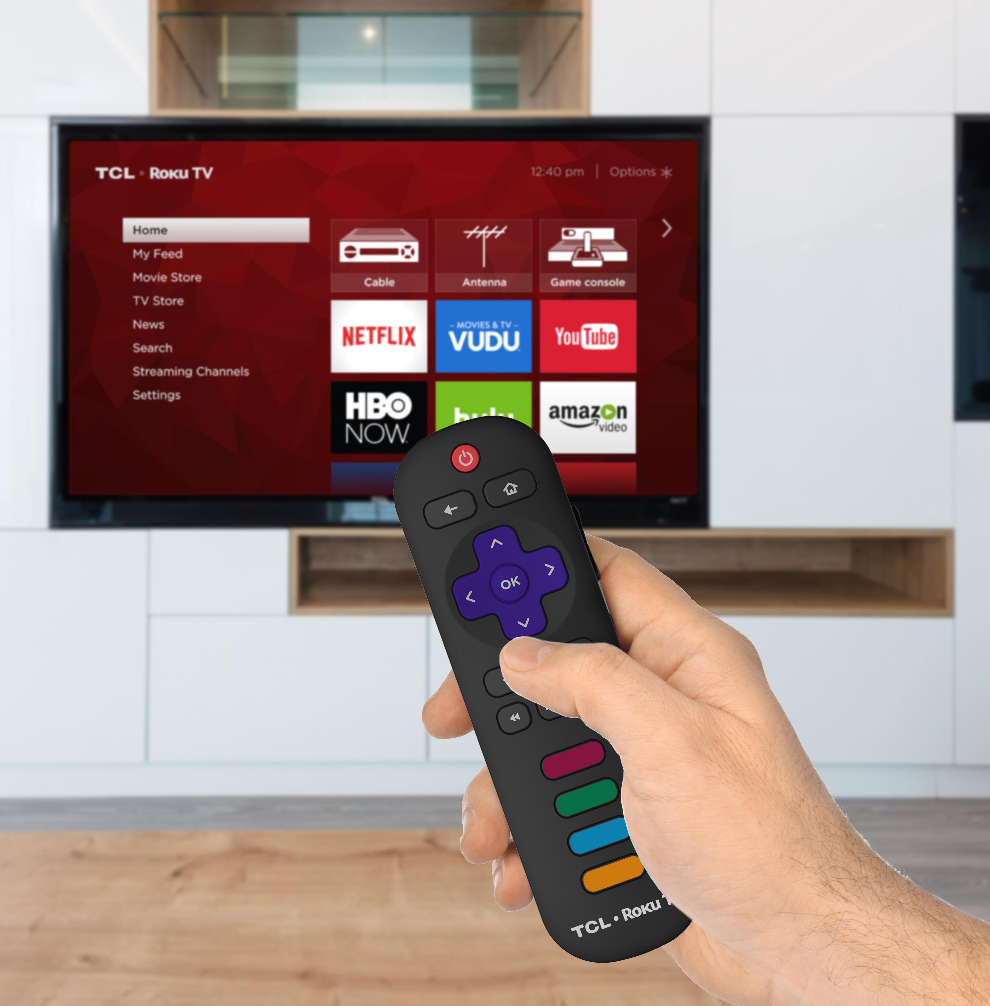 "TCL 43S405 43"" 4K Ultra HDR Roku Smart LED TV 3 HDMI 1 USB"
