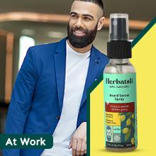 Beard sanitizer spray