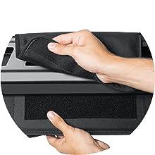 Rip-and-Grip Strap Attachment
