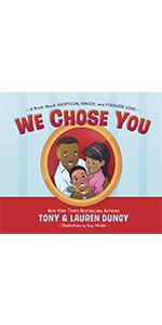 we chose you tony lauren dungy