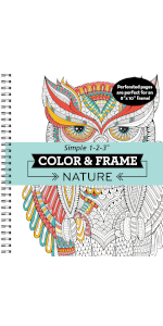 nature coloring book for adults grown up senior teens